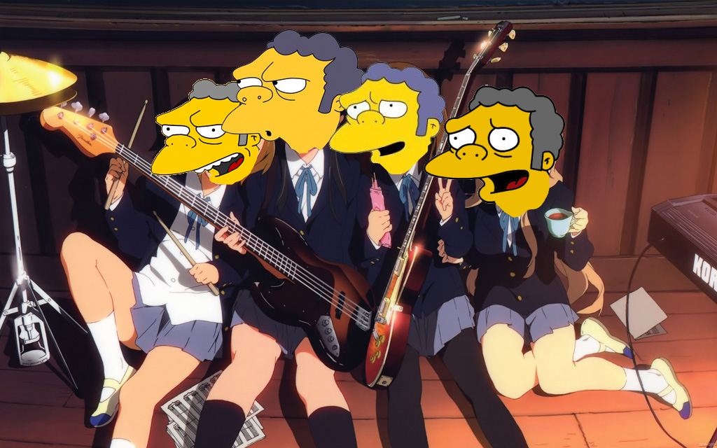 What s the matter with moe an inside look uem - Guitare simpson ...