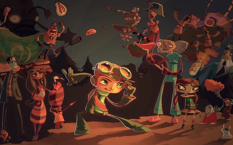 Mind Games: How Psychonauts Crafts its Characters
